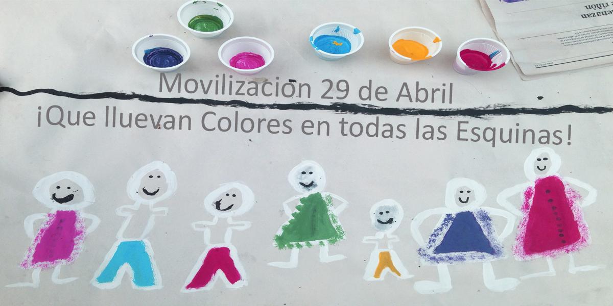 29 de Abril: Movilización de colores